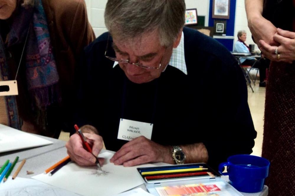 ポインテッドペン「プリンシパル」の開発に関わったカリグラフィー専門家「ブライアンGウォーカー」