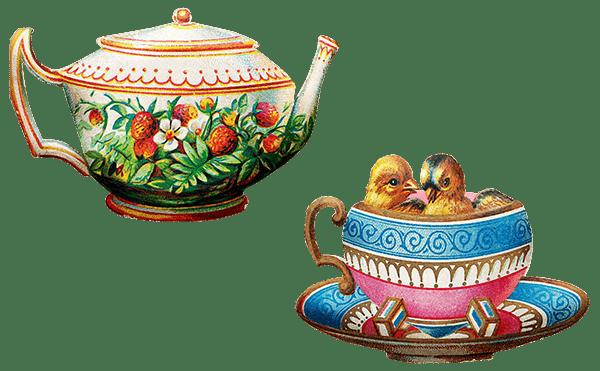 紅茶は西洋のイメージ?